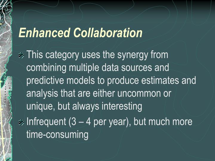 Enhanced Collaboration