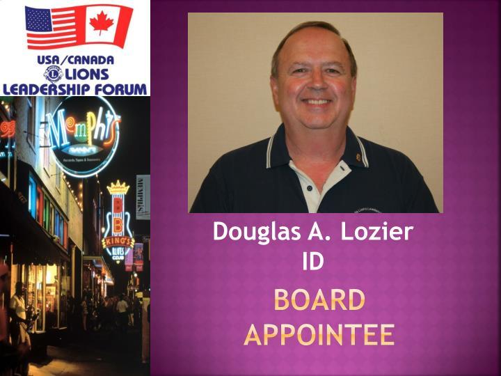 board appointee