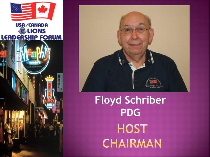 host chairman