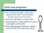 suffix tree properties