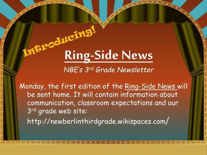 Ring-Side News