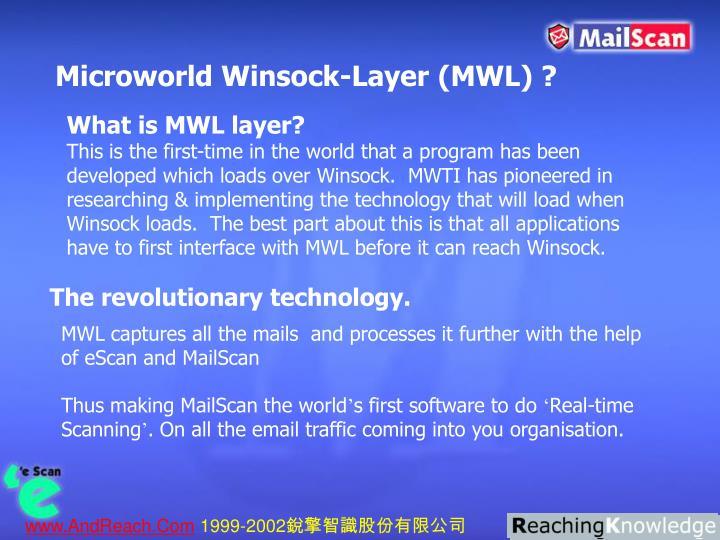 Microworld Winsock-Layer (MWL) ?