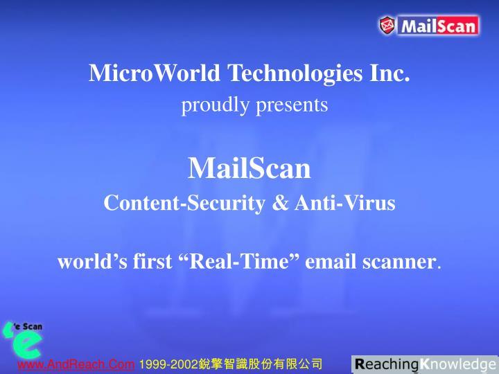 MicroWorld Technologies Inc.