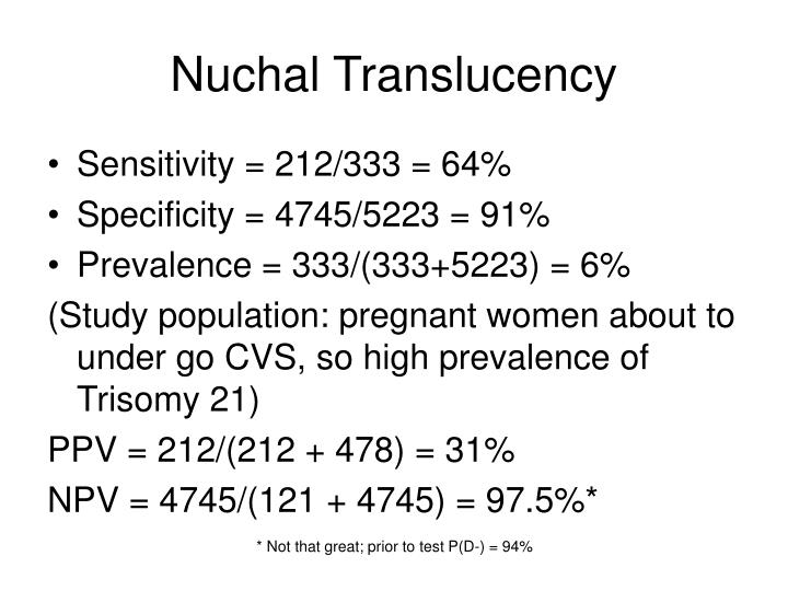 Nuchal Translucency