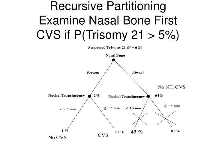 Recursive Partitioning
