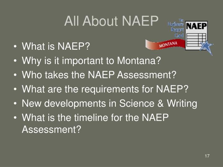 All About NAEP