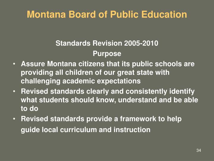 Montana Board of Public Education