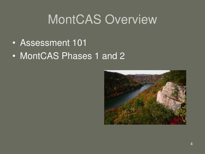 MontCAS Overview