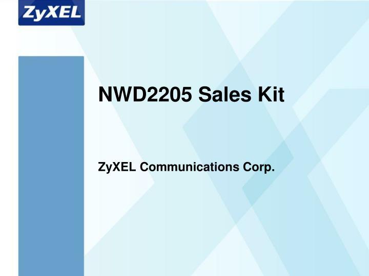 nwd2205 sales kit