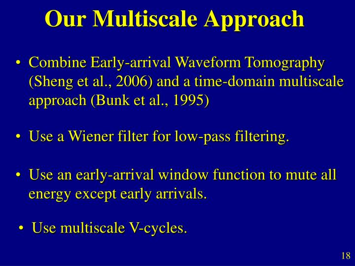 Our Multiscale Approach