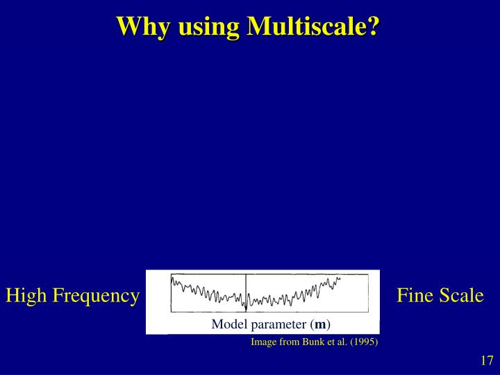 Why using Multiscale?
