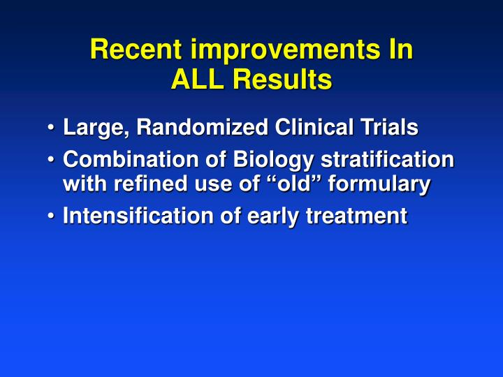 Large, Randomized Clinical Trials