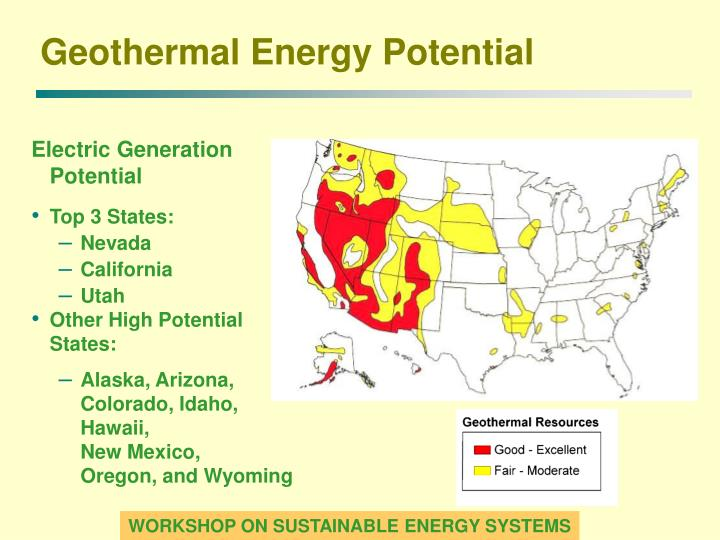 Geothermal Energy Potential