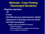 methods case finding discharged residents1