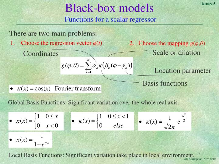 Black-box models