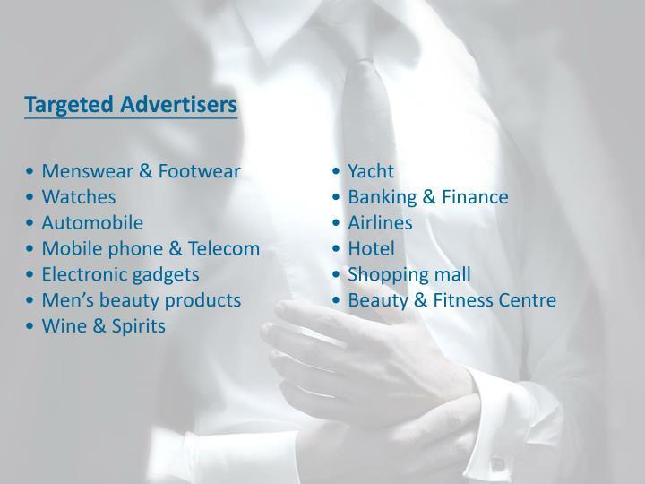 Targeted Advertisers