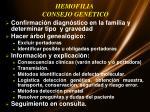 hemofilia consejo gen tico
