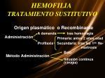 hemofilia tratamiento sustitutivo1