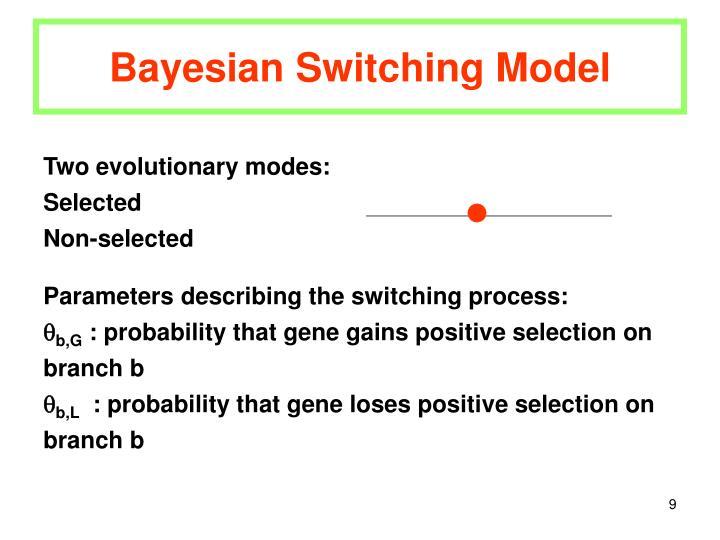 Bayesian Switching Model