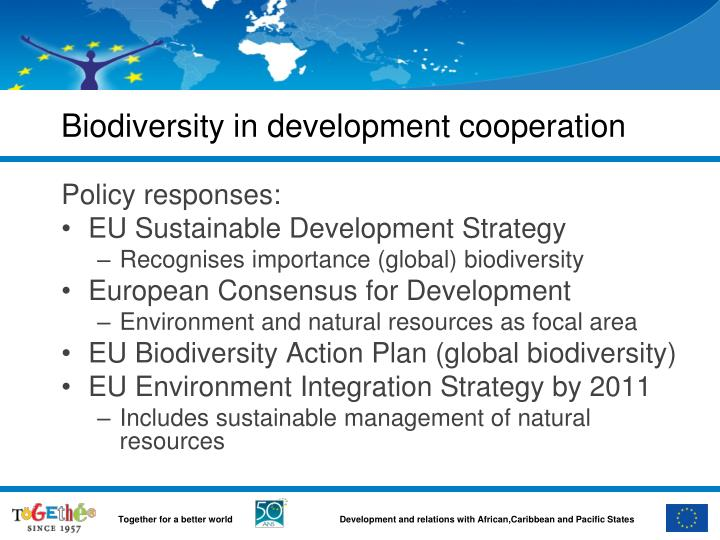 biodiversity in development cooperation