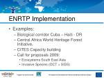 enrtp implementation