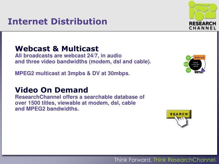 Webcast & Multicast