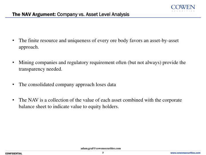 The NAV Argument:
