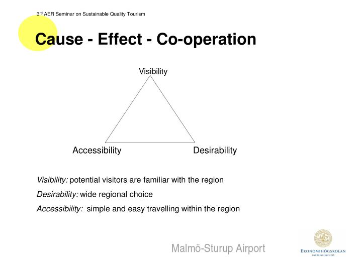 Cause - Effect - Co-operation