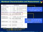 workload characterization and measurement1