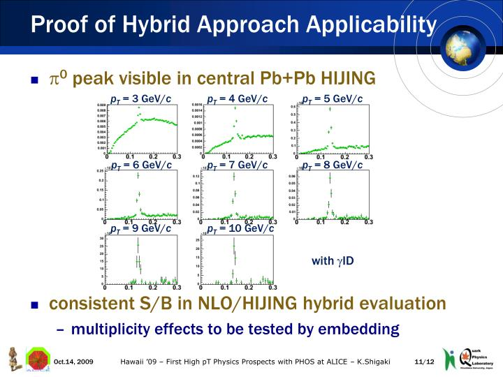 Proof of Hybrid Approach Applicability