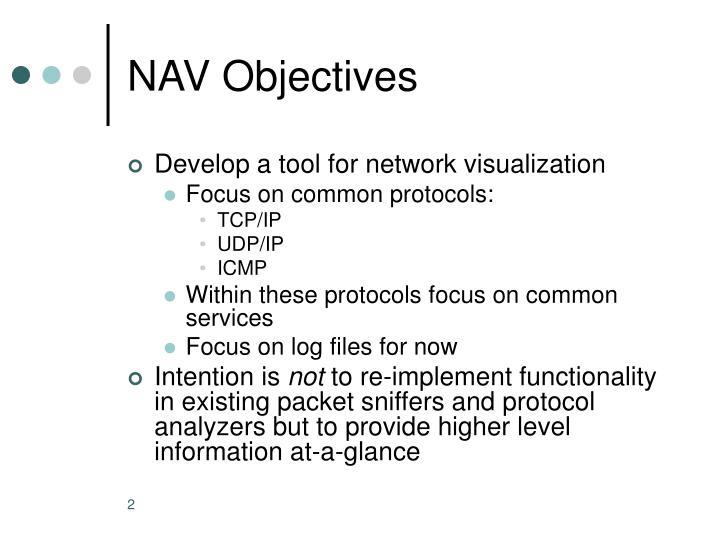 NAV Objectives