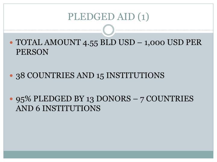 PLEDGED AID (1)