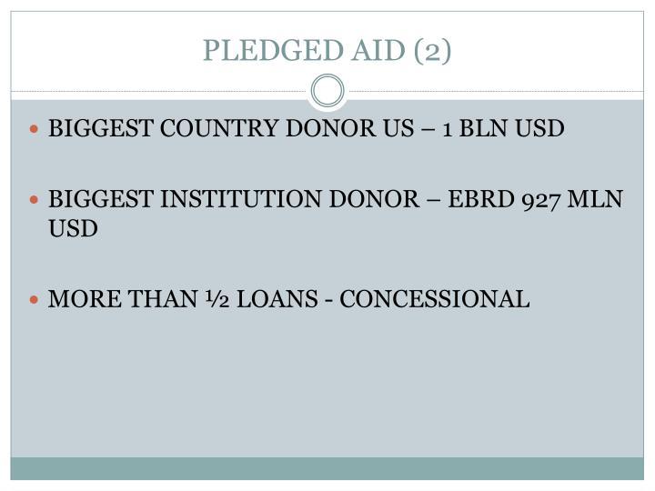 PLEDGED AID (2)