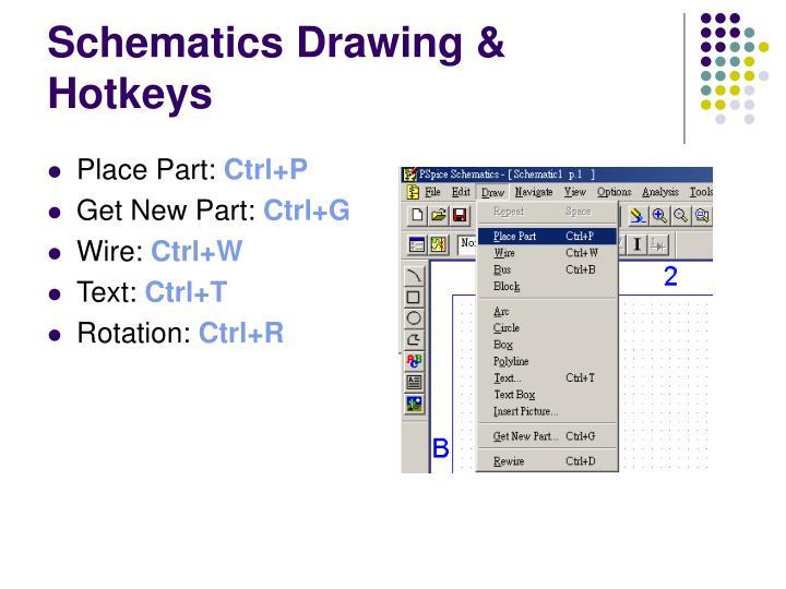 Schematics Drawing & Hotkeys