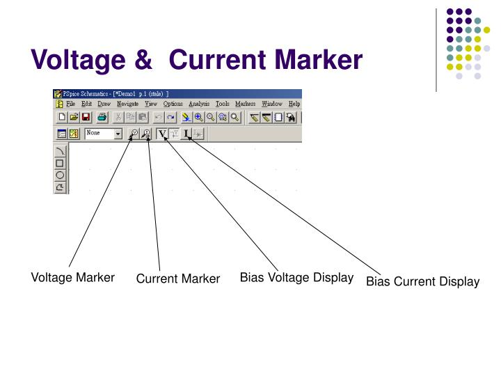 Voltage &  Current Marker