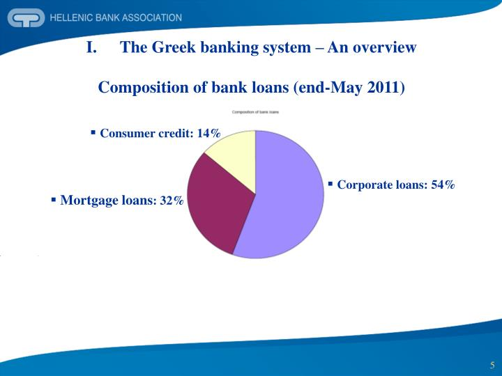 The Greek banking system – An overview