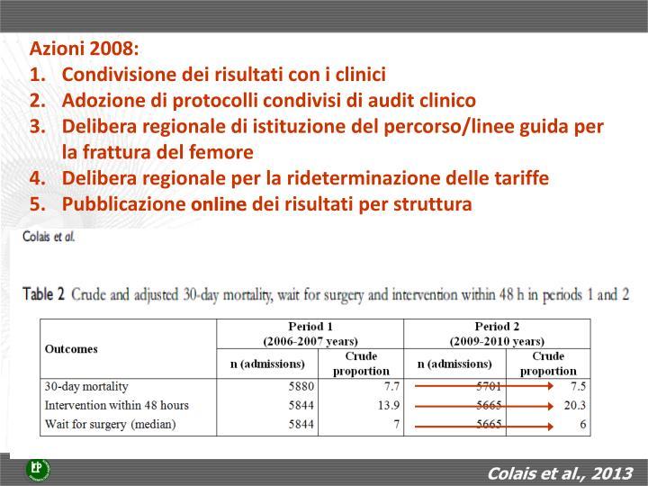Colais et al., 2013