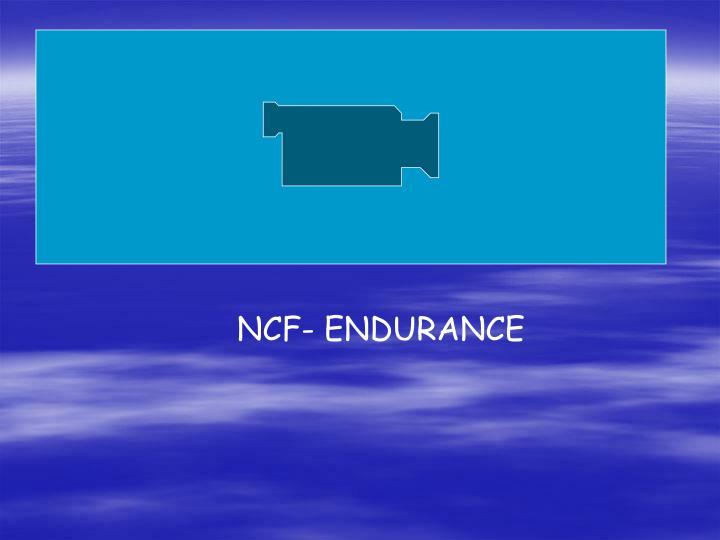 NCF- ENDURANCE