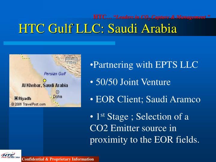 HTC Gulf LLC: Saudi Arabia
