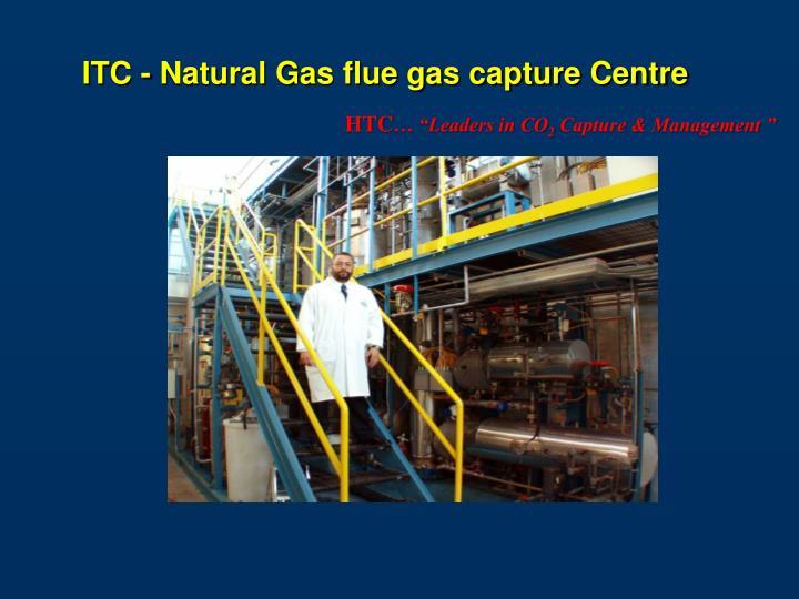 ITC - Natural Gas flue gas capture Centre