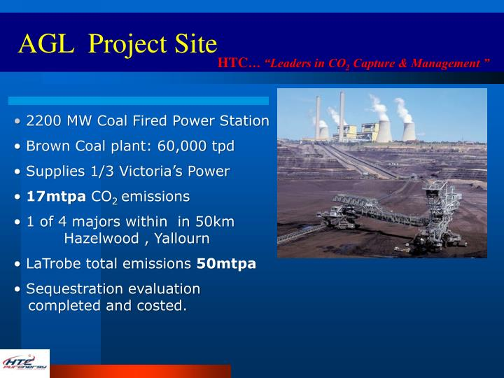 AGL  Project Site