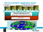 the vl e project application areas2