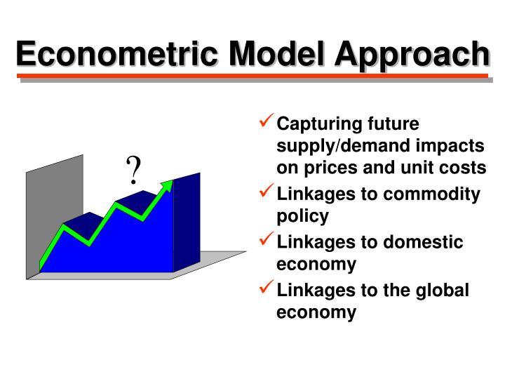 Econometric Model Approach