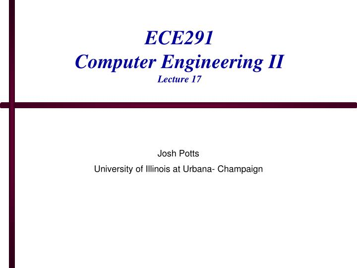 ECE291