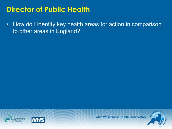 Director of Public Health