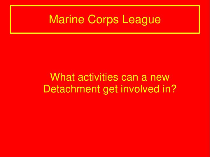 What activities can a new