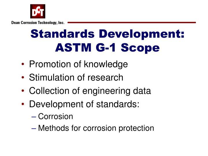 Standards Development:
