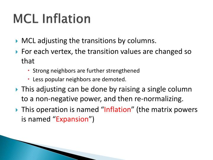 MCL Inflation