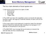 burst memory management1