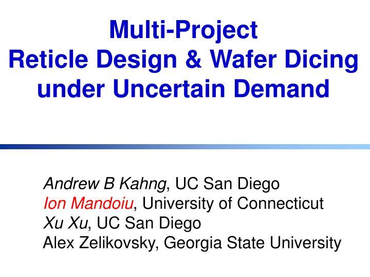 Multi-Project